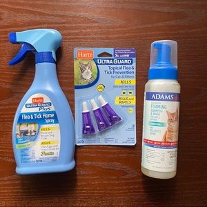 🌿Cat Flea and Tick Supplies